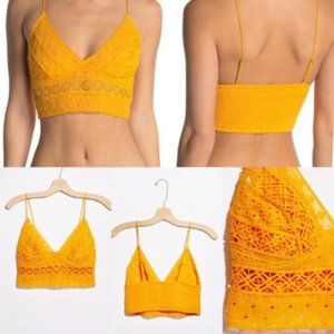 New Free People Intimately Carina Bralette Small